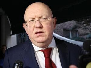 Russian Ambassador to the United Nations Vassily Nebenzya  (AFP/File Photo)