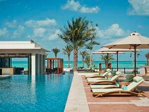 St Regis Saadiyat Outside Lap Pool.