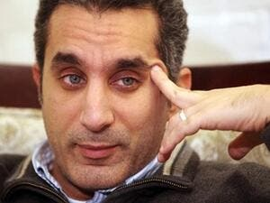 Bassem Youssef jokes about being passed over as The Daily Show host. (File photo)