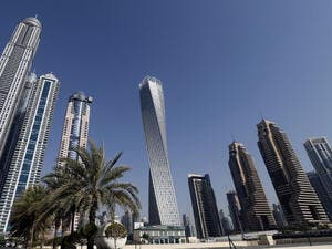 A UAE company is hiring 3,000 employees as it undertakes a massive development project. (AFP/File)