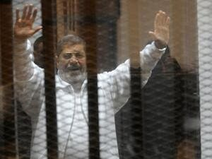 In September, Egypt's highest appellate court rejected an appeal by Morsi against his 25-year jail term for allegedly spying for Qatar. (AFP/File)