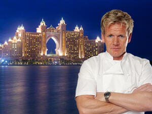 Will Dubai's crowd be able to swallow this Ramsay menu better than they did his Verre was. (Shortlist Dubai)