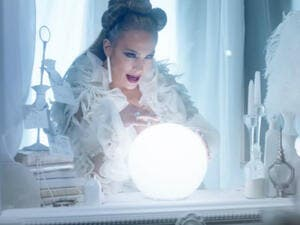 "In the video for ""Medicine,"" the singer wears an outfit by Amato Couture. (Source: Jennifer Lopez - YouTube)"