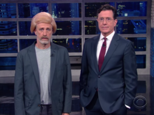 Trump gets 'trumped' in a hilarious skit by Jon Stewart! (Slate.com)