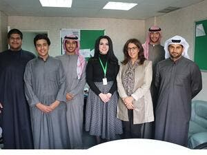 INJAZ Team with Mr. Shaker and Agrivage team