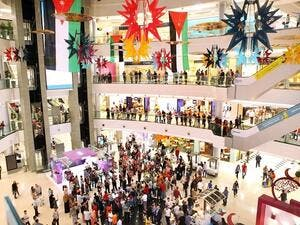 City Mall During the Event