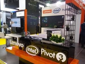 Lenovo Offers Security Solutions in Global Smart City Race at Intersec 2019.