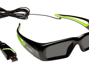 NVIDIA's 3D Vision wired glasses