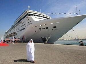 Abu Dhabi, along with Dubai, are expanding their port infrastructure in order to attract more cruise tourism in the upcoming years (Courtesy of Gulf Ship News)