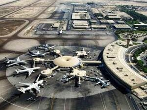 More than 3.4 million passengers passed through the airport during the first three months