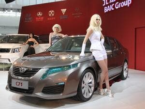 Two BAIC models will initially be sold in the UAE through the Gargash Motors alliance (Courtesy of Truth About Cars)