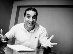"They call him ""the Egyptian Jon Stewart"", Bassem Youssef's satirical news show ""Al Bernameg"" (The Program) (picture courtesy of arabawy)"