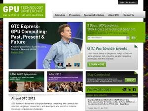 GPU Technology Conference website