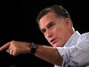 Romney waxes lyrical on the Middle East