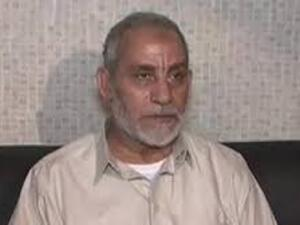 Mohamed Badie, the Muslim Brotherhood's Supreme Guide, will face trial for inciting violence and terrorism in Egypt's Giza December 9 (Courtesy of BBC)
