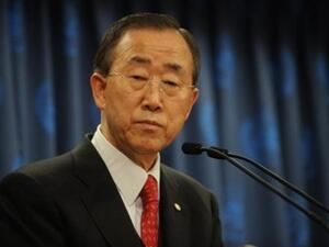 Nesirky said he had briefed Secretary General Ban Ki-Moon on Jaafari's comments to reporters.