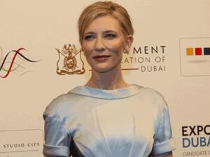 Cate Blanchett arrives for the screening of Life of Pi on Sunday (Photo: Virendra Saklani / Gulf News)