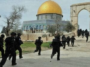 Clashes often break out in the holy compound when Israel allows Jewish visitors into the site. (AFP/File)