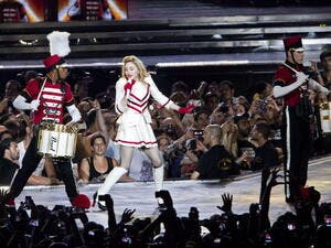 Many fans expected Madonna to take the stage between 9.30 and 10pm on both nights.