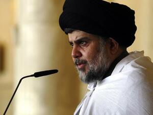 Head of the Sadrist Movement, Muqtada al-Sadr. (AFP/File)