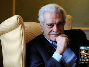 Omar Sharif was a legend in both Hollywood and the Arab world. (File photo)