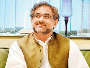 Pakistani Prime Minister Shahid Khaqan Abbasi. (AFP/ File Photo)