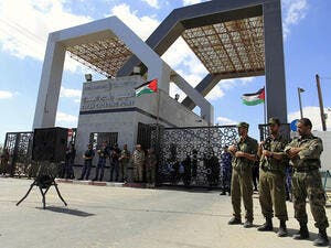 783 Gazans were able to leave the coastal enclave via the Rafah border since it opened Saturday morning. (AFP/File)