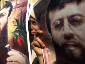 Khader Adnan, who has been on a long hunger strike to protest conditions of his imprisonment, is near death, his lawyer said. (AFP/File)