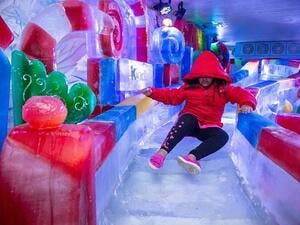 The festival is set to take children on a fun adventure with many new activities including a treasure hunt, sticky wall challenge, inflatable roller slides, winter themed face painting and many other spectaculars.