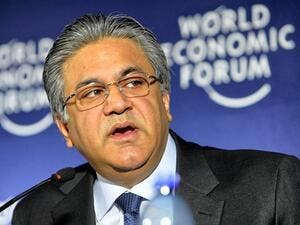 Arif Naqvi, Founder of Abraaj Group. (AFP)