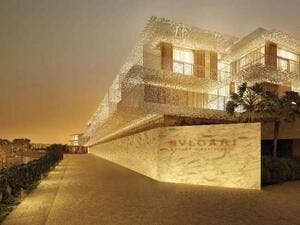 The first 'Bulgari' branded hotel in Dubai has got itself an opening date. (Courtesy of Bulgari)
