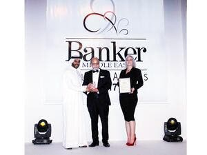 Dr R Seetharaman, Group CEO of Doha Bank, received the award on behalf of Doha Bank.