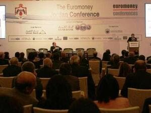 The event, which was attended by over 400 people, focused on the financing of Jordan's economy