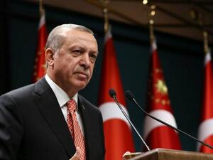President Tayyip Erdogan said on Tuesday that Turkey would boycott electronic products from the United States. (AFP)