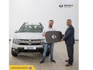 The sole winner hailing from Kuwait, Mr. Mohammad Abdul Mohsen AlAbod AlKheder was gifted the keys to his brand new car by Renault Al Babtain Brand Manager Carl Saliba at the Al Rai showroom.