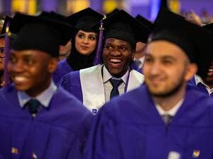 Degrees were conferred to 253 students from 71 countries at the ceremony that took place on the University's campus on Saadiyat Island.