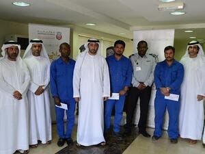 The General Administration of Customs Abu Dhabi Honours Employees