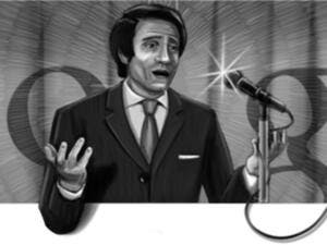 Abdel Halim Hafez in today's Google doodle