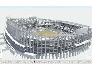 a cloud-based 4D construction modeling solution, will be used for FC Barcelona's major renovation to the Espai Barça sports arena in Barcelona, Spain, which when completed will accommodate more than 100,000 fans.