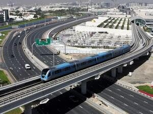 From the first day it was launched on September 9, 2009, until the end of August 2017 - nearly eight years - the driverless carriage had carried 1.03 billion passengers. (Khaleej Times)
