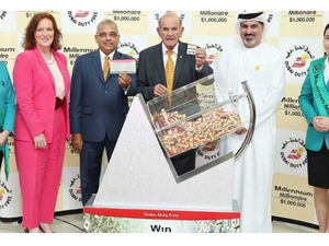 Two other winners drove home a Range Rover and a BMW. (KhaleejTimes)