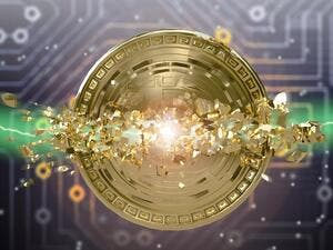 Calling Bitcoin the 'biggest bubble in human history', economist Nouriel Roubini predicts that the virtual currency will crash to zero value. (Shutterstock)