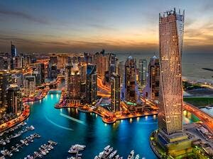 Dubai has enjoyed the fastest growth of any city in the region over the past 20 years, on the back of urbanisation and building a financial system. (Shutterstock)