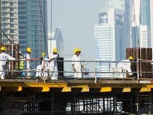 The UAE portal will cover three categories of workers. including blue-collar, nurses and sailors. (Shutterstock)