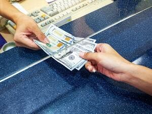 Seven exchange houses have been prohibited from conducting any activities relating to remittances or payment of wages. (Shutterstock)