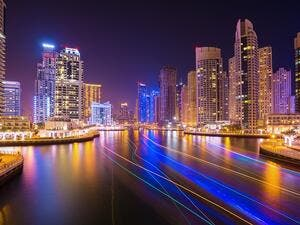 The UAE, led by Dubai with a volume of new developments in the Middle East, has over 200 projects underway. (Shutterstock)