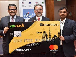During the launch of the co-branded travel card