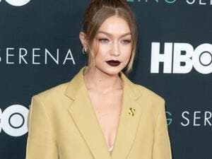 Gigi Hadid is seldom seen looking anything less than perfect. (Source:Shutterstock / lev radin )