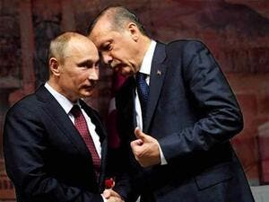 Erdogan and Putin meeting to discuss the Syrian conflict (Rami Khoury/Al Bawaba)