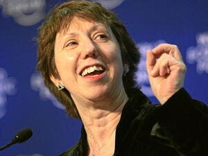 Catherine Ashton, foreign policy chief of the European Union (World Economic Forum/Wikimedia Commons)